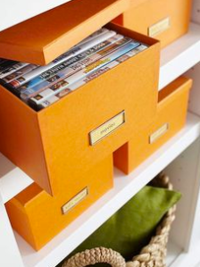 Look at Better Homes and Gardens tips for room-by-room organization.