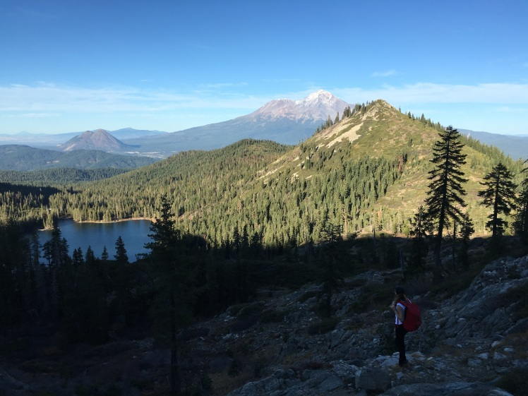 Gazing at Mnt. Shasta... I felt peace
